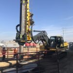 EXCAVATOR MOUNTED DRILL RIG - TR60 WITH AN 11FT AUGER