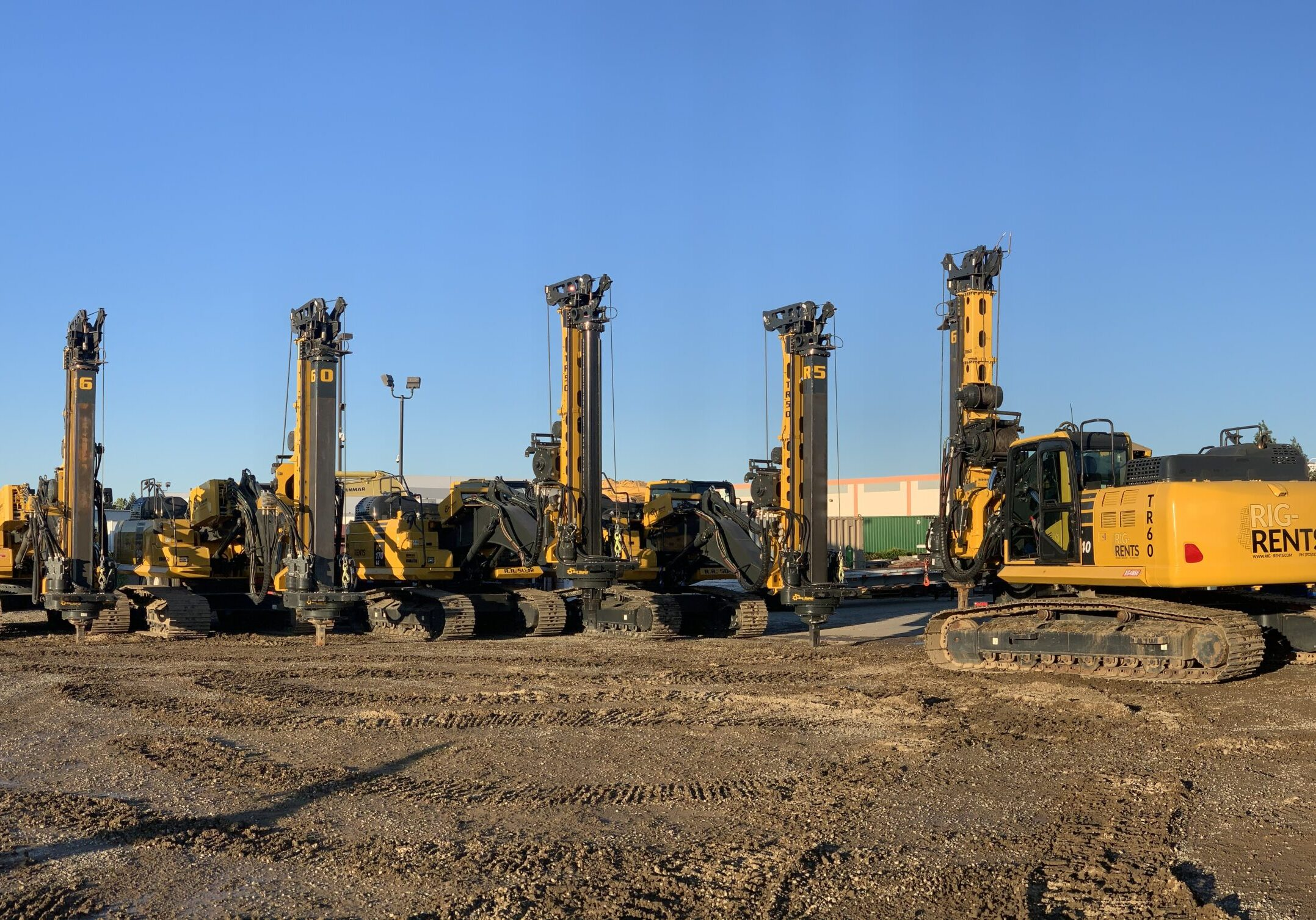 TR DRILL RIGS AVAILABLE