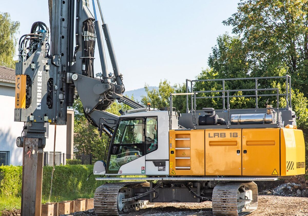 LRB18 Drilling and Pile Machine